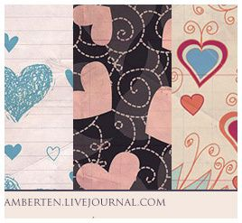 Valentine's  Day Theme Paper Texture