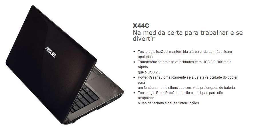 Asus X44C-VX024R - Tela 14