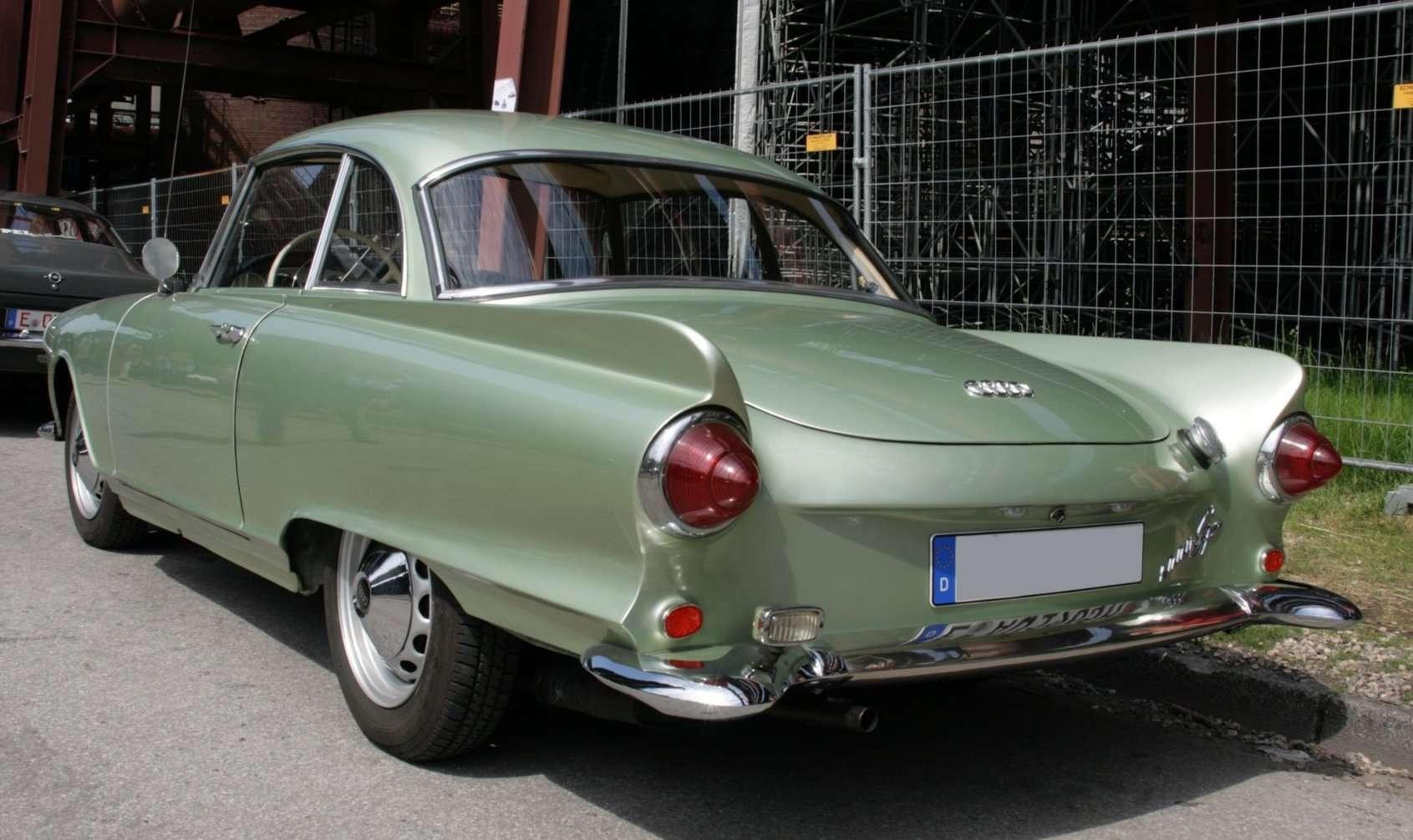 Car Auto Union 1000 Sp Coupe