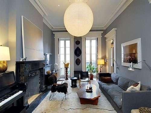 Pintar el salon gris o color decorar tu casa es - Pintar un salon comedor ...