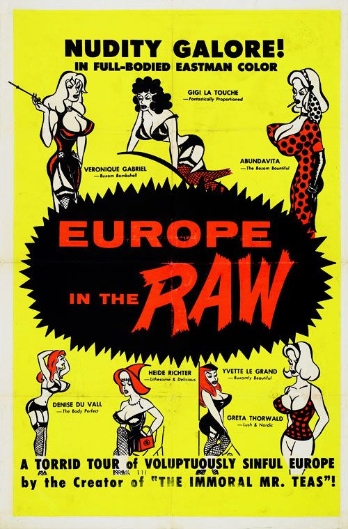eurithraw Russ Meyer   Europe in the Raw (1963)