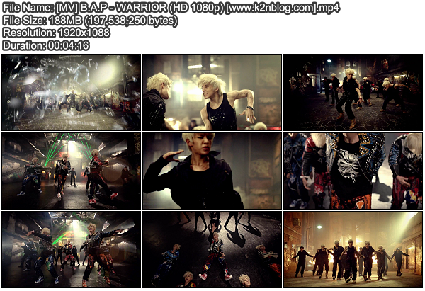 [MV] B.A.P - WARRIOR (HD 1080p Youtube)