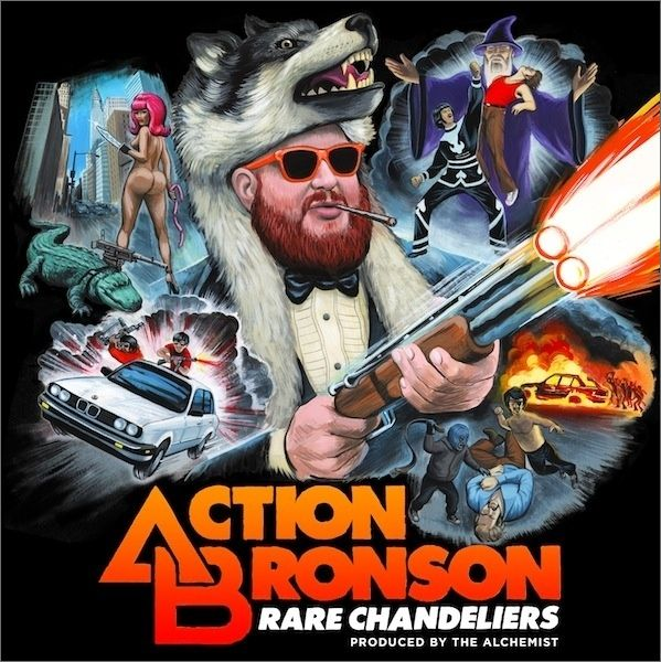 Action Bronson x Alchemist &#8211; Rare Chandeliers