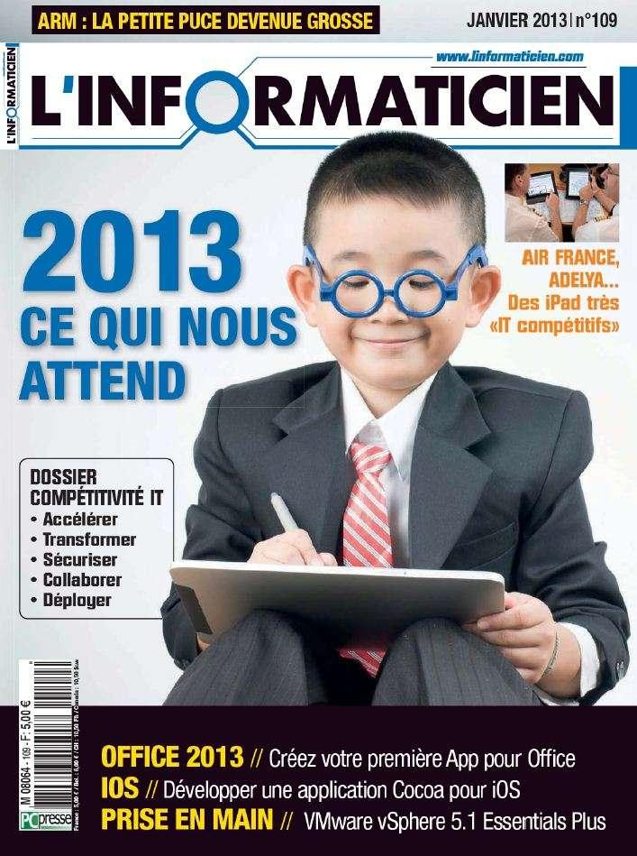 L'Informaticien N°109 Janvier 2013