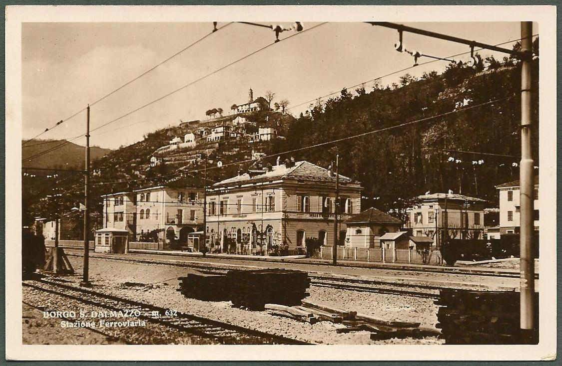 Cuneo borgo san dalmazzo 05b stazione ferroviaria ebay for Materassi borgo san dalmazzo
