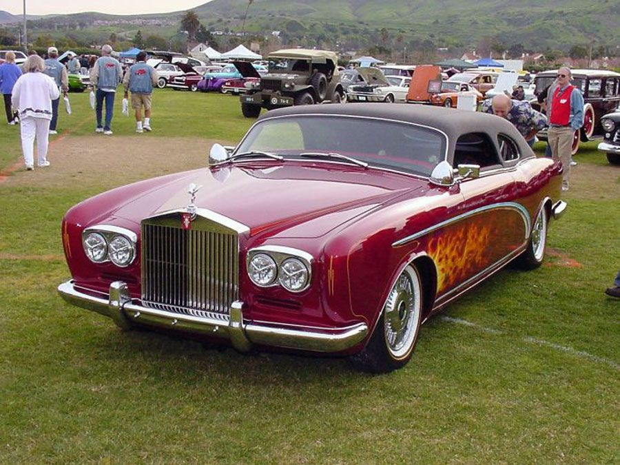 Rolls Royce Corniche Coupe Chophead By Dean Bryant Only