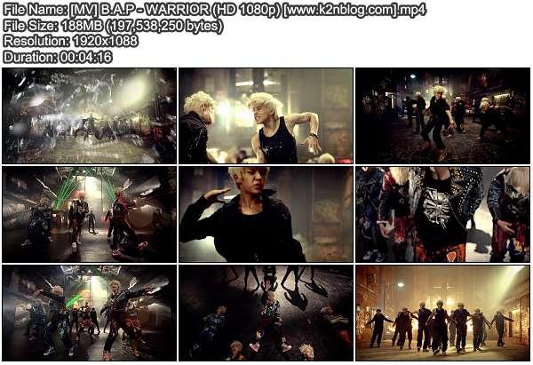 [MV] B.A.P - WARRIOR (HD 1080p Youtube)